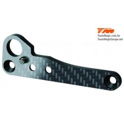 KF1471-1 Pièce Option - G4 - Renfort de support de barre anti-rouli arrière en carbon