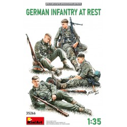 MINIART35266 German Infantry at Rest 1/35