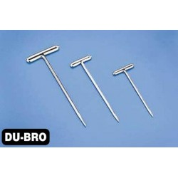 DUB252 Aircrafts Parts & Accessories - Nickel Plated T-Pins 1'' (100 pcs per package)