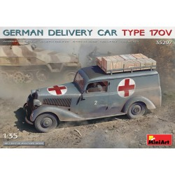 MINIART35297 German Delivery Car Type 170V 1/35