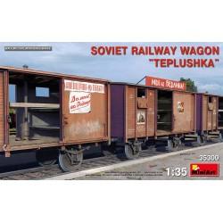 MINIART35300 Soviet Railway Wagon Teplushka 1/35