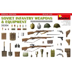 MINIART35304 Soviet Infantry Weapons & Equi.1/35