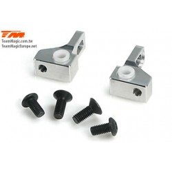 KF2105 Option Part - E4RS/FS/JR/JS/D/E4D-MF - Alum. 7075 Front Rear Hinge Pin Mount Set