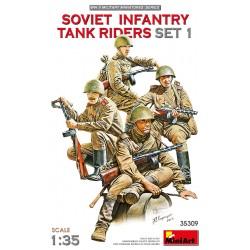 MINIART35309 Soviet Infantry Tank Riders 1 1/35
