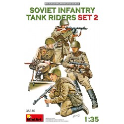 MINIART35310 Soviet Infantry Tank Riders 2 1/35