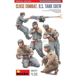 MINIART35311 Close Combat US Tank Crew SpEd.1/35