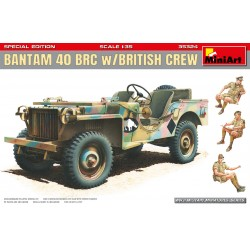 MINIART35324 Bantam 40 BRC with Brit. Crew 1/35