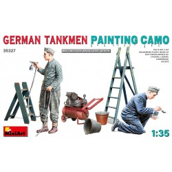 MINIART35327 German Tankmen Camo Painting 1/35