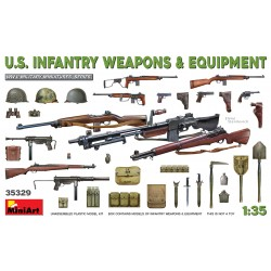 MINIART35329 US Infantry Weapons & Equip. 1/35