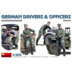 MINIART35345 German Drivers & Officers 1/35