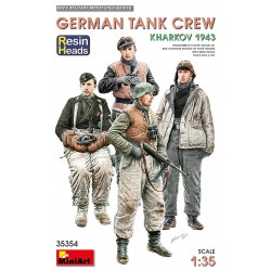 MINIART35354 German Tank Crew Kharkov '43 1/35