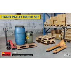 MINIART35606 Hand Pallet Truck Set 1/35