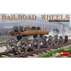 MINIART35607 Railroad Wheels 1/35
