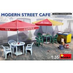 MINIART35610 Modern Street Cafe 1/35