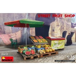 MINIART35612 Street Fruit Shop 1/35