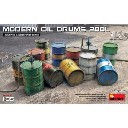 MINIART35615 Modern Oil Drums 200 l. 1/35