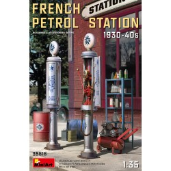 MINIART35616 French Petrol Station 1930-40' 1/35