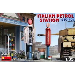 MINIART35620 It.Petrol Station 1930-1940 1/35