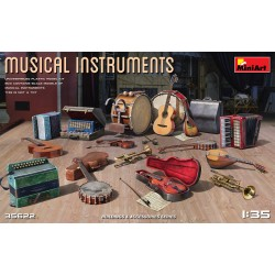MINIART35622 Musical Instruments 1/35