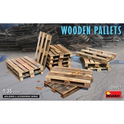 MINIART35627 Wooden Pallets 1/35