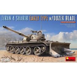 MINIART37044 Tiran 4 Sharir Early w/Dozer 1/35