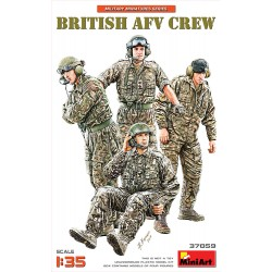 MINIART37059 British AFV Crew 1/35