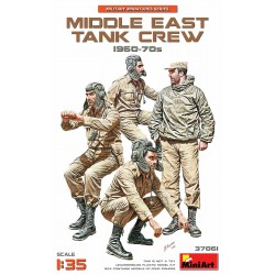 MINIART37061 Middle East Tank Crew '60/70 1/35