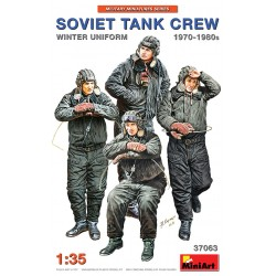 MINIART37063 Soviet Tank Crew '70'80 Winter 1/35