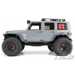 PL3336-00 Carrosserie - 1/10 Crawler - Transparente - Jeep Wrangler Rubicon 2009 - pour 12.3'' Wheelbase Crawler