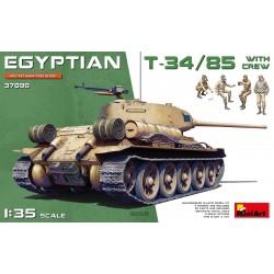 MINIART37098 Egyptian T-34/85 with Crew 1/35