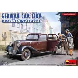 MINIART38016 German Car 170V Cabrio Saloon 1/35