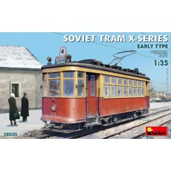 MINIART38020 Soviet Tram X-Serie Early Type 1/35