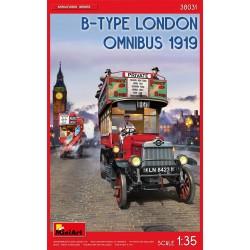 MINIART38031 B-Type London Omnibus '19 1/35