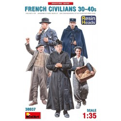 MINIART38037 French Civilians '30-40 1/35