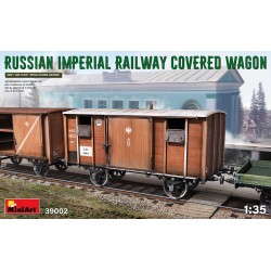 MINIART39002 Russian Imperial Railway Wagon 1/35