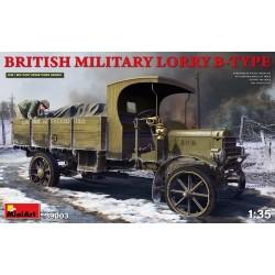MINIART39003 British Military Lorry B-Type 1/35