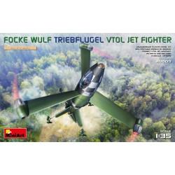 MINIART40009 FW Triebflugel VTOL Jet Figter 1/35