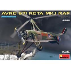MINIART41008 Avro 671 Rota MK.I RAF 1/35