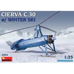 MINIART41014 Cierva C.30 with Winter Ski 1/35