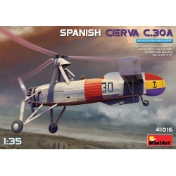 MINIART41016 Spanish Cierva C.30A 1/35