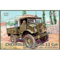 IBG72014 IBG Chev.C15A N°13 Gen.Service 1/72
