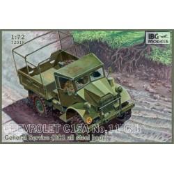 IBG72018 IBG Chev.C15A N°11 Gen.Service 1/72