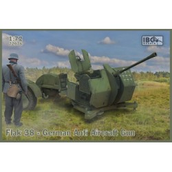 IBG72076 Flak 38 German Anti Aircr.Gun 1/72