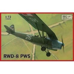 IBG72501 RWD8 PWS Pol.Trainer Plane Mil.1/72