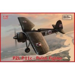 IBG32001 PZL P.11c Polish Fighter 1/32