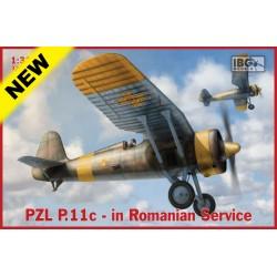 IBG32002 PZL P.11c Polish Fight.Romania 1/32