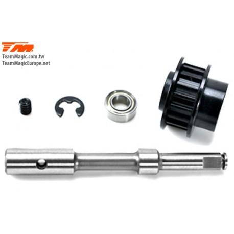 KF2141 Option Part - E4RS/FS/JR/JS/D - Aluminium Middle Oneway Pulley Set