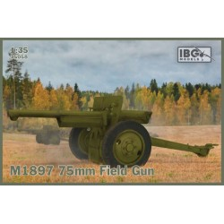 IBG35058 M1897 75mm Field Gun US Serv. 1/35