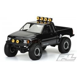 PL3466-00 Carrosserie - 1/10 Crawler - Transparente - Toyota HiLux SR5 1985 (Cab & Bed) - pour Axial SCX10 Trail Honcho