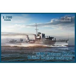 IBG70009 HMS Hotspur 1941 Brit. H-class1/700